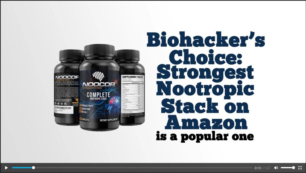 Nootropics Amazon Affiliate Niche Pack — Affiliazon DFY